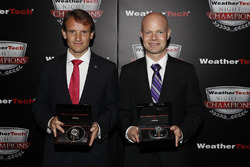Antonio Garcia and Jan Magnussen with Tudor Watches