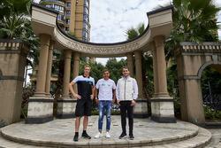 Тед Бьорк, Polestar Cyan Racing, Филипе де Соуза, RC Motorsport, и Норберт Михелиц, Honda Racing Team JAS