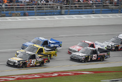 Myatt Snider, Kyle Busch Motorsports Toyota, Grant Enfinger, ThorSport Racing Toyota, Austin Cindric, Brad Keselowski Racing Ford, Bobby Gerhart, Lucas Oil Chevrolet Silverado