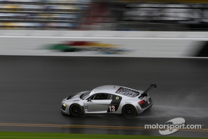 Frank Biela testing Audi Customer Car at Daytona
