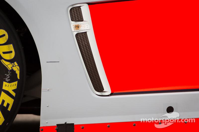 Chevrolet bodywork detail