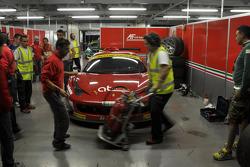 #11 AF Corse Ferrari 458 Italia GT3: Alexander Talkanitsa Sr., Alexander Talkanitsa Jr., Pasin Lathouras, Raffaele Gianmaria, Stephane Lemeret