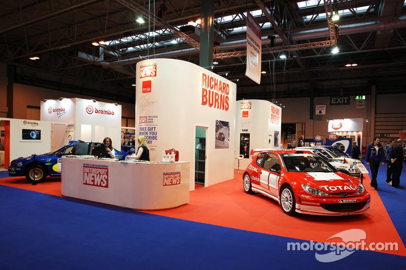 Международная автоспортивная выставка, Бирмингем, четверг.
