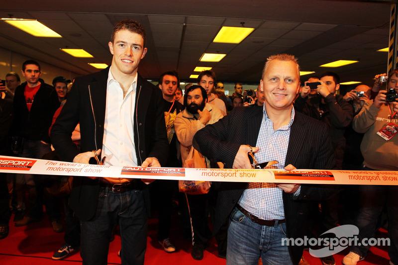 Paul di Resta, Sahara Force India F1 e Johnny Herbert, open AutoSport International
