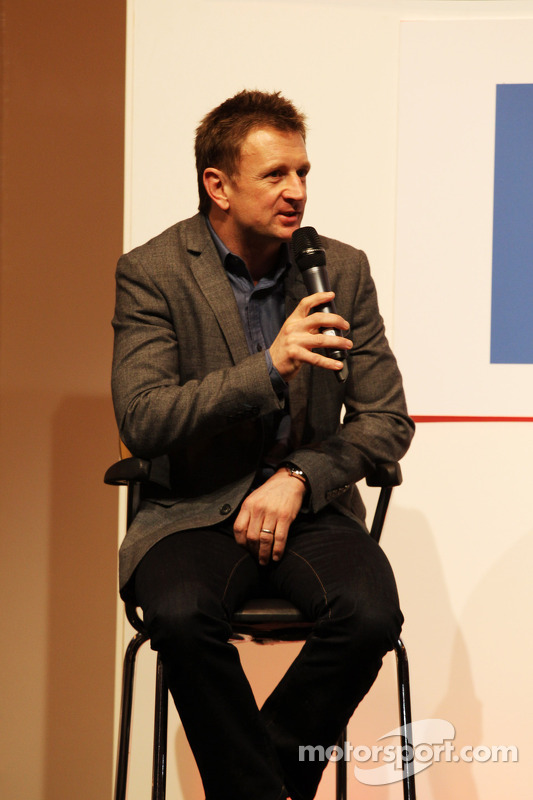 Allan McNish, no Autosport Stage