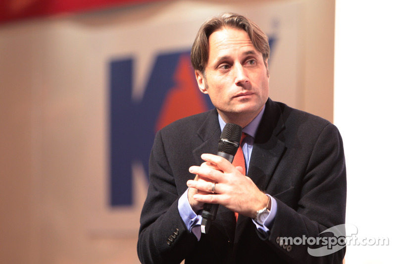 Adam Parr, voormalig CEO Williams, op de Autosport Stage