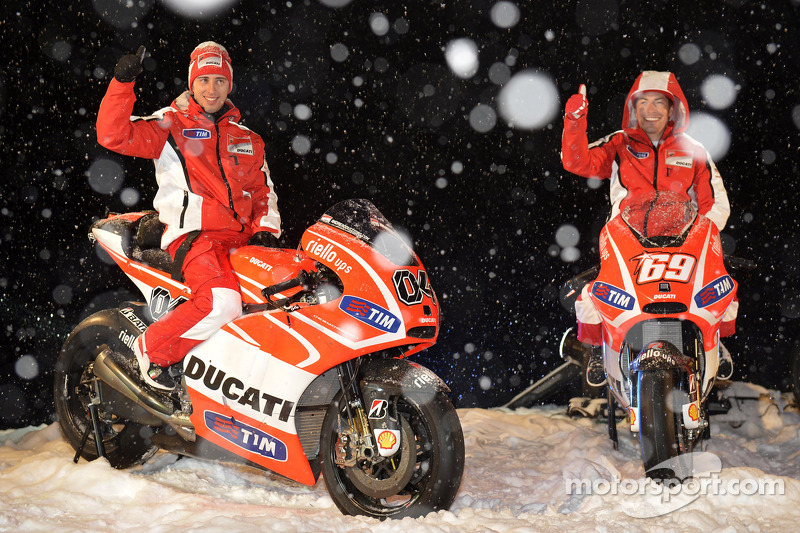 Ducati Desmosedici 2013 - Andrea Dovizioso e Nicky Hayden