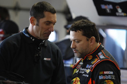 Max Papis and Tony Stewart, Stewart-Haas Racing Chevrolet
