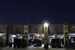 Garages of Team Hendrick Motorsport