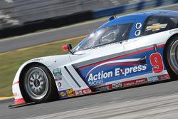 #9 Action Express Racing Corvette DP: Joao Barbosa, Mike Rockenfeller, Brian Frisselle, Burt Frisselle, Christian Fittipaldi