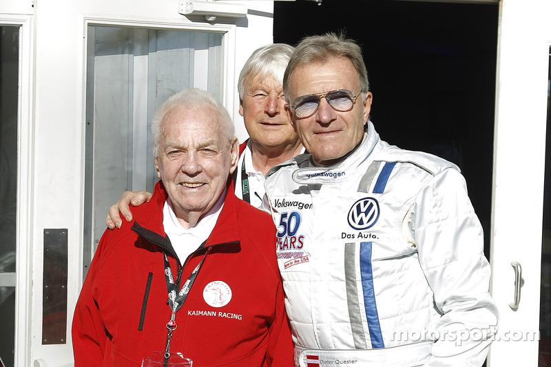 Dieter Quester beim Formel-V-Revival auf dem Daytona International Speedway
