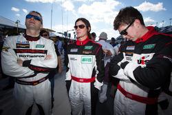 Marco Seefried, Melanie Snow and Madison Snow