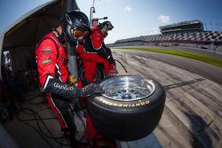 GAINSCO/Bob Stallings Racing equipe pronta para o pit stop