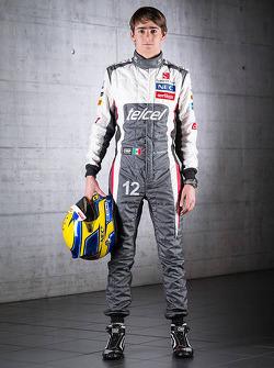 Эстебан Гутьеррес. Презентация Sauber F1 Team C32, Студийная фотосессия.