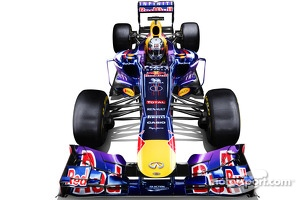 The Red Bull Racing RB9 of Sebastian Vettel