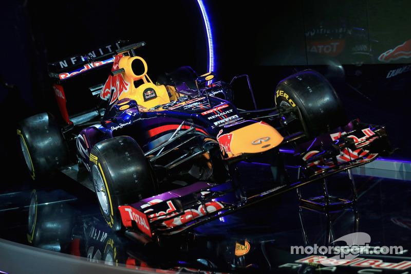 Презентация Red Bull Racing RB9, Презентация.