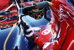 Scuderia Toro Rosso STR8: Lenkrad