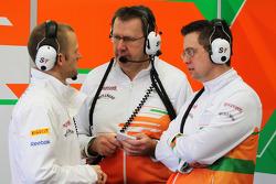 Sahara Force India F1 Team engineers