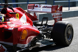 Felipe Massa, Ferrari F138, suspensão traseira