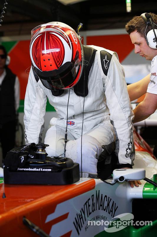 James Rossiter, Sahara Force India F1 VJM06 pilotor de simulador