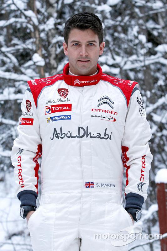 Scott Martin, Citroën Total Abu Dhabi World Rali Team