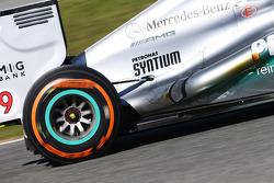 Nico Rosberg, Mercedes AMG F1 W04 exhaust
