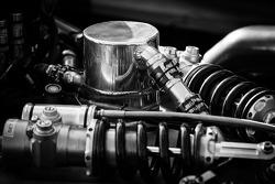 #6 Muscle Milk Pickett Racing HPD ARX-03c Honda suspension