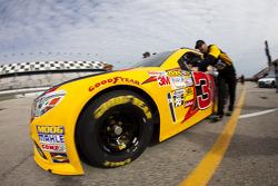 Jeff Burton's car