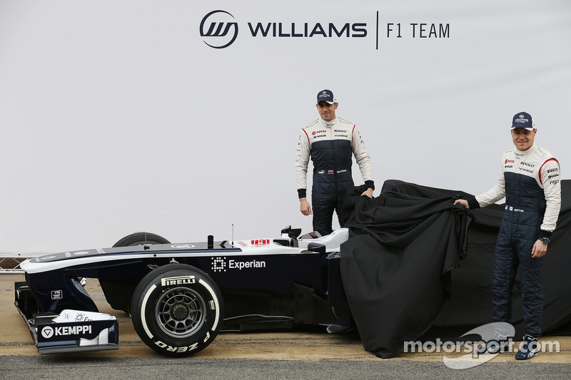 Пастор Мальдонадо и Валттери Боттас. Презентация Williams FW35, Презентация.