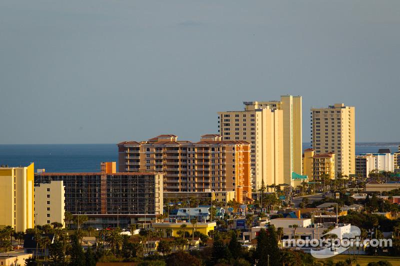Een overzichtsfoto van Daytona Beach