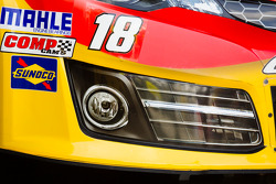 Front end spolier of Kyle Busch, Joe Gibbs Racing Toyota