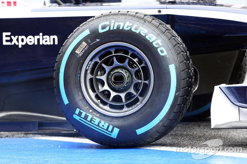 Williams FW35 wheel