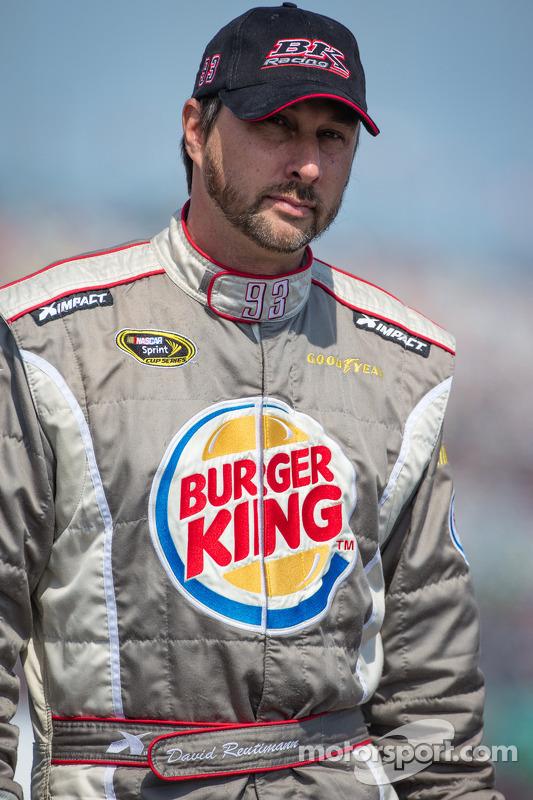 David Reutimann, BK Racing Toyota depois de um enorme acidente