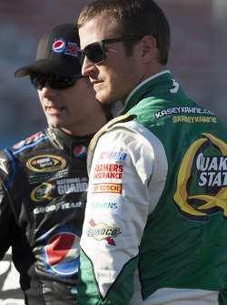 Kasey Kahne and Jeff Gordon