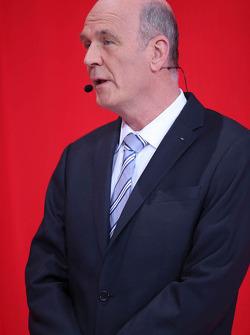 Dr. Wolfgang Ullrich, hoofd van Audi Motorsport