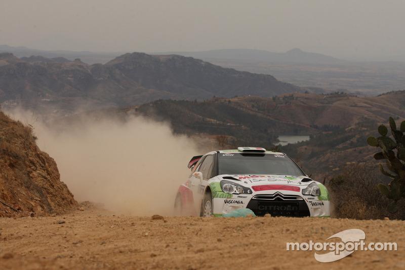 Benito Guerra en Borja Rozada, Citroën DS3 WRC