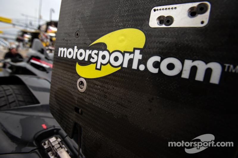 Motorsport.com Logo am Level 5 Motorsports HPD ARX-03b