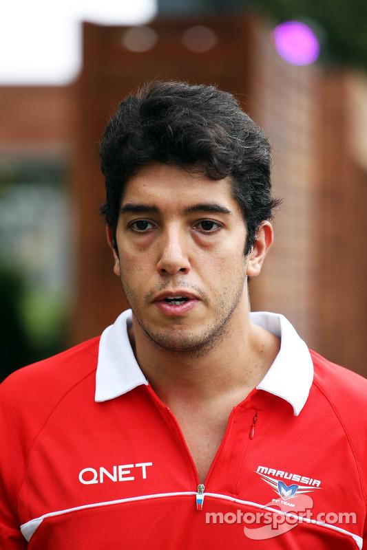 Rodolfo Gonzalez, Marussia F1 Team