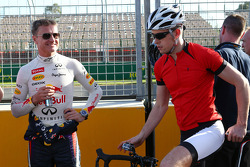 Paul di Resta, Sahara Force India F1 with David Coulthard, Red Bull Racing and Scuderia Toro Advisor / BBC Television Commentator