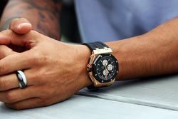 La montre de Lewis Hamilton, Mercedes AMG F1