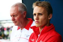 John Booth, Marussia F1 Team Team Principal with Max Chilton, Marussia F1 Team