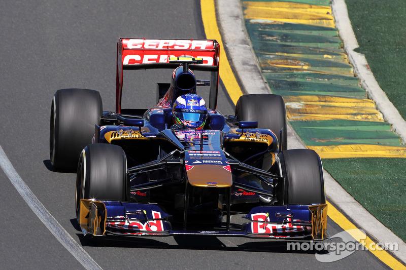 Даниэль Риккардо. ГП Австралии, Первая пятничная тренировка.
