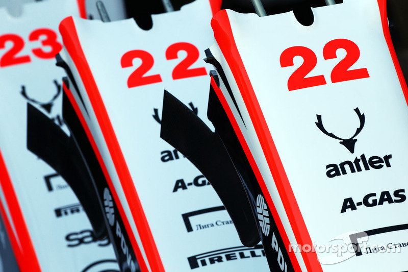 Marussia F1 Team MR02 nosecones