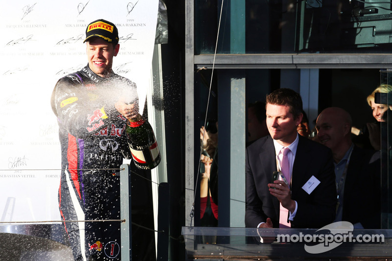 Себастьян Феттель. ГП Австралии, Воскресенье, после гонки.