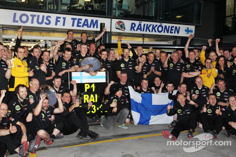Кімі Райкконен, Lotus F1 Team, із командою