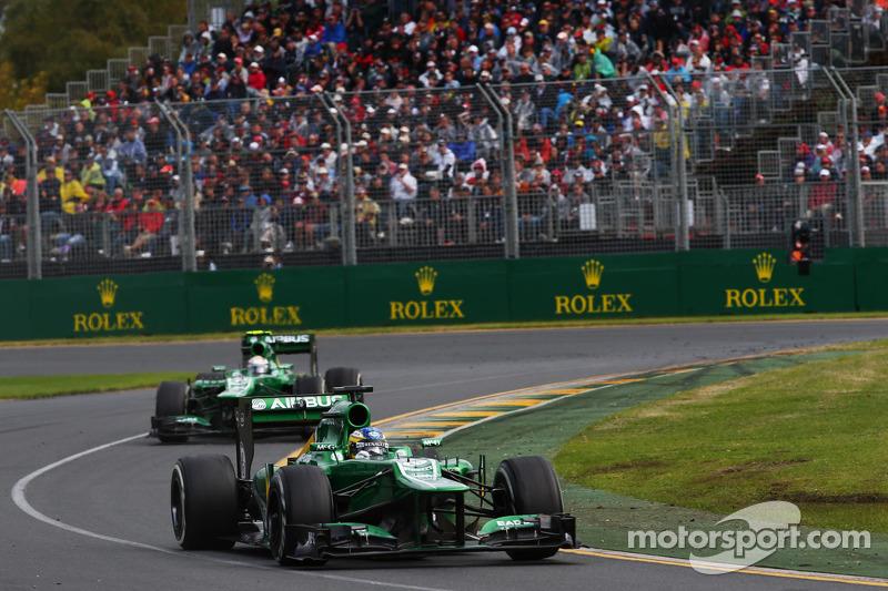 Шарль Пик. ГП Австралии, Воскресная гонка.