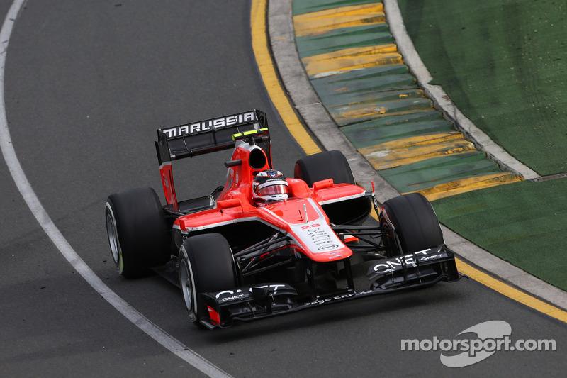 Макс Чилтон. ГП Австралии, Воскресная гонка.