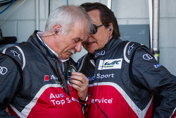 Ulrich Baretzky, Chefe do Engine Development em Audi Sport e Reinhold Joest