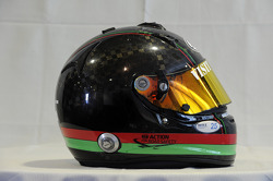 Helmet, Mehdi Bennani, BMW E90 320 TC, Proteam Racing