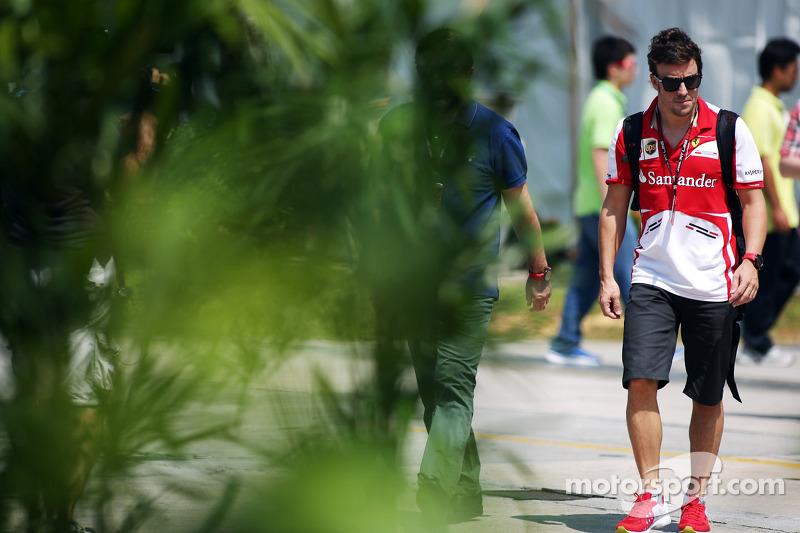 Фернандо Алонсо. ГП Малайзии, Субботняя тренировка.